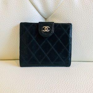 Authentic Chanel Lambskin Wallet / Card Case